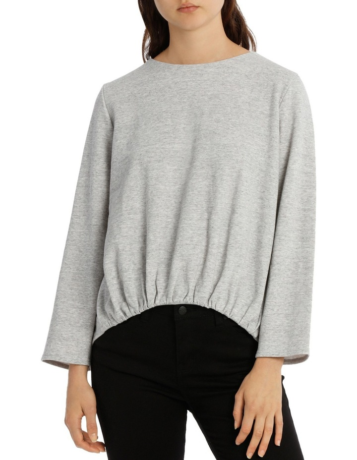 Open Back Sweat Top image 1