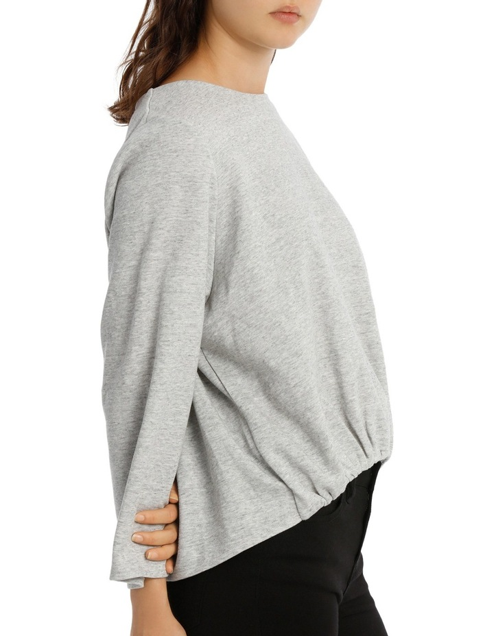 Open Back Sweat Top image 2