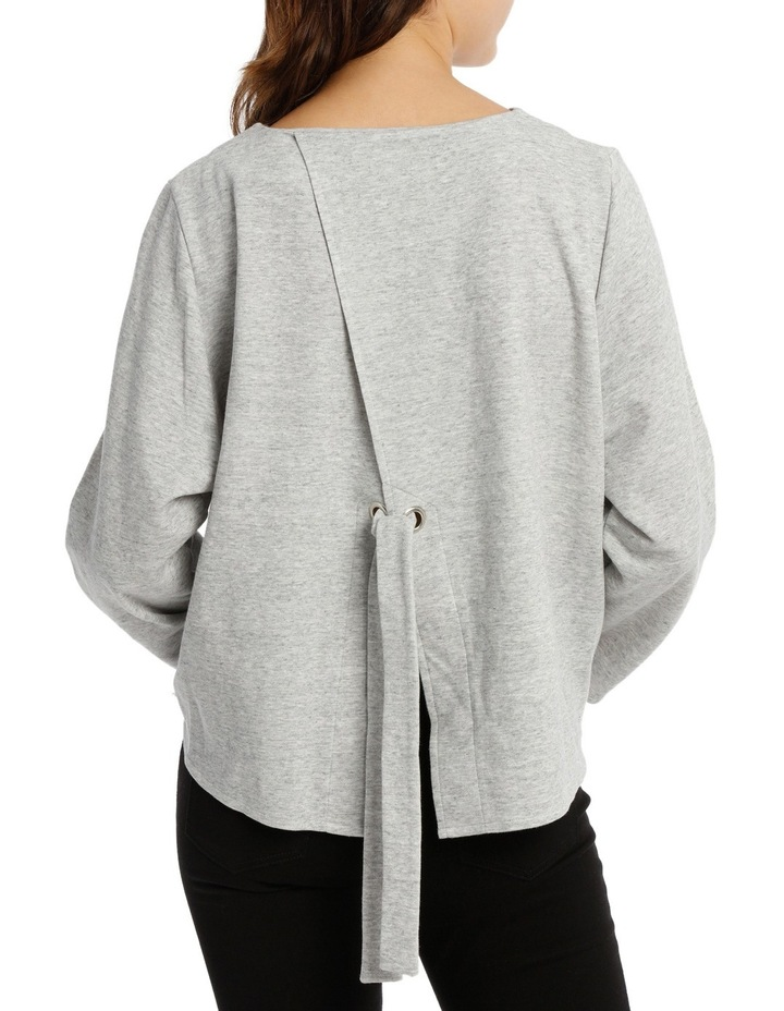 Open Back Sweat Top image 3