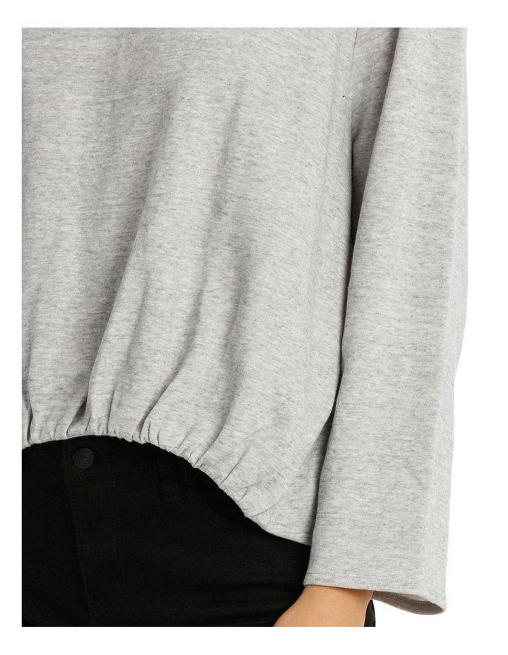Open Back Sweat Top image 4