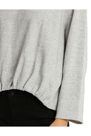 Milk & Honey - Open Back Sweat Top