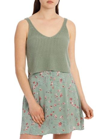 ab2460040c8 Milk   Honey Deep V Knit Tank