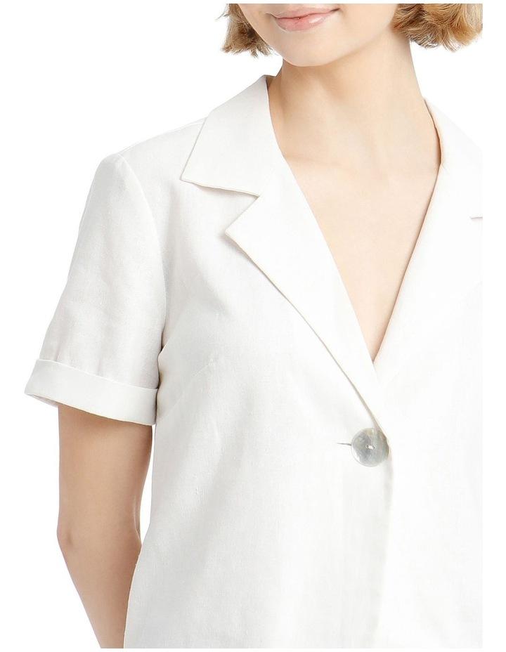 One Button Crop Shirt image 4