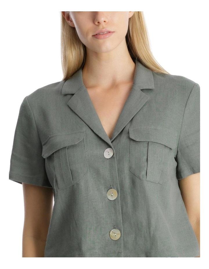 Button Detail Utility Shirt image 4