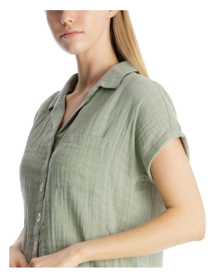 Relaxed Cotton Shirt image 4