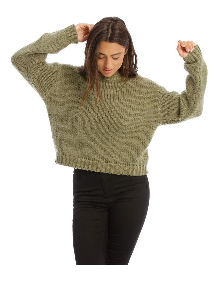 Bay Leaf Chunky Knit image 1