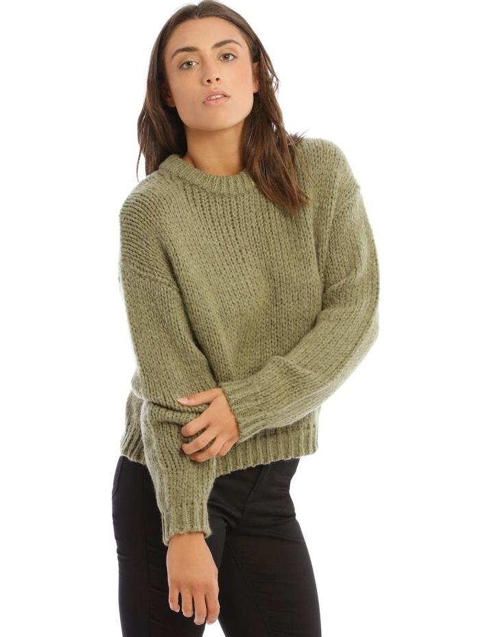 Bay Leaf Chunky Knit image 2