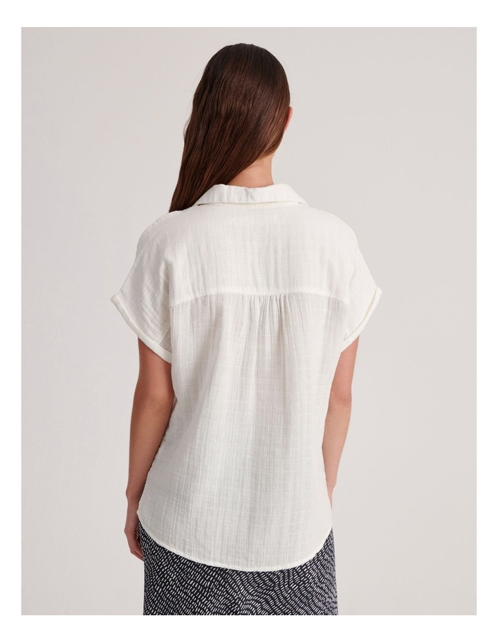 Double Cheesecloth Shirt image 3