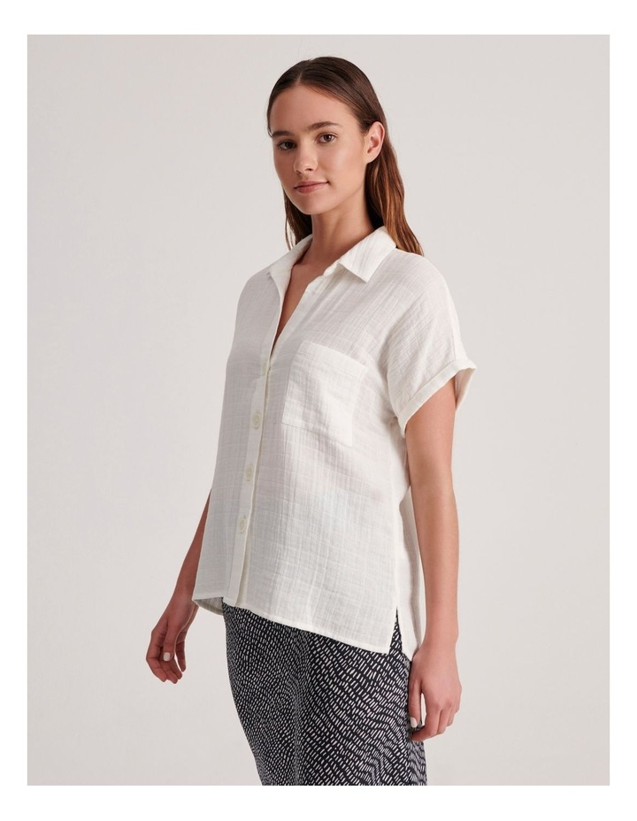 Double Cheesecloth Shirt image 5