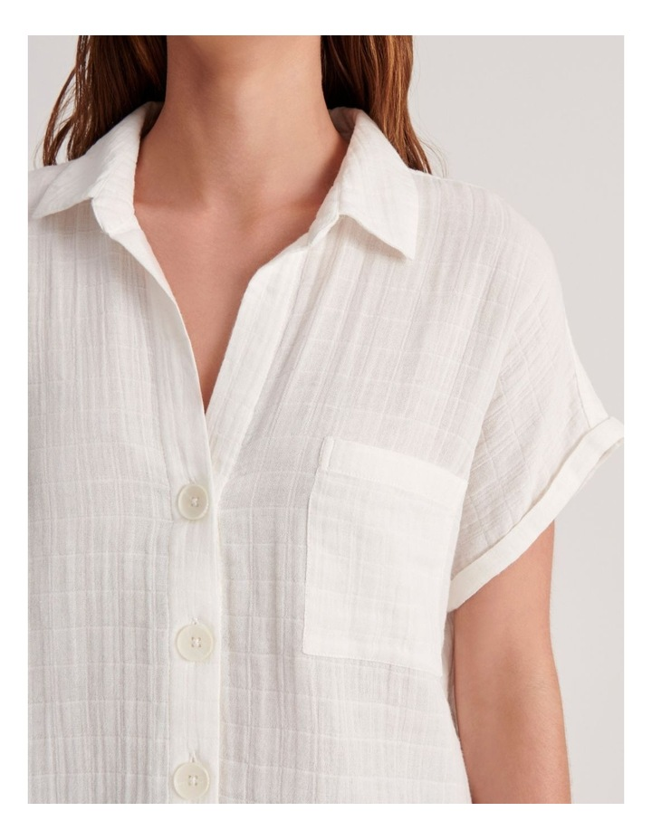 Double Cheesecloth Shirt image 7