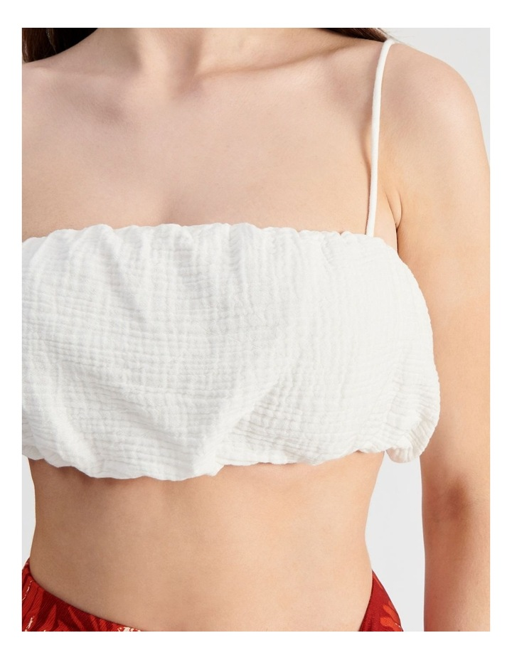 Cropped Puff Top image 5