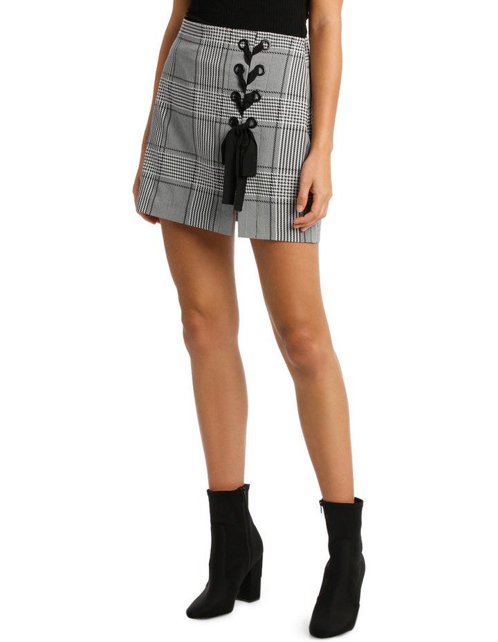 Stevie Lace Up Mini Skirt image 1