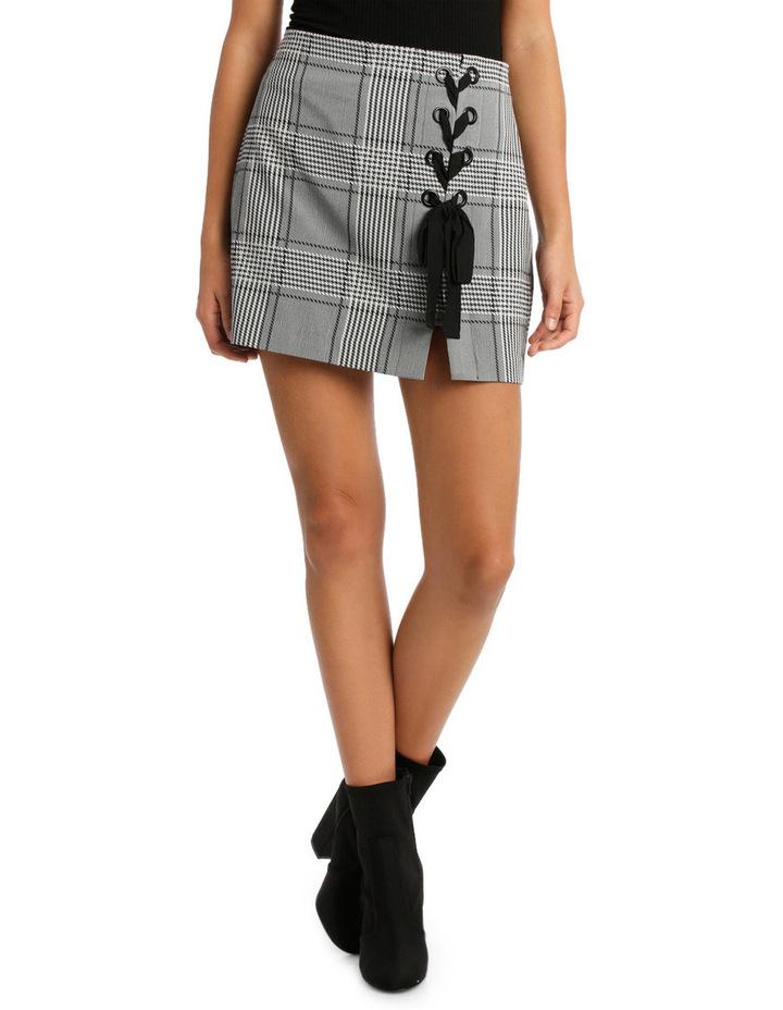 Stevie Lace Up Mini Skirt image 2