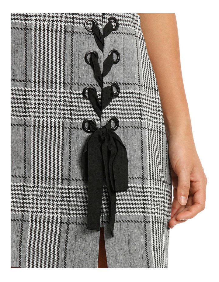 Stevie Lace Up Mini Skirt image 4