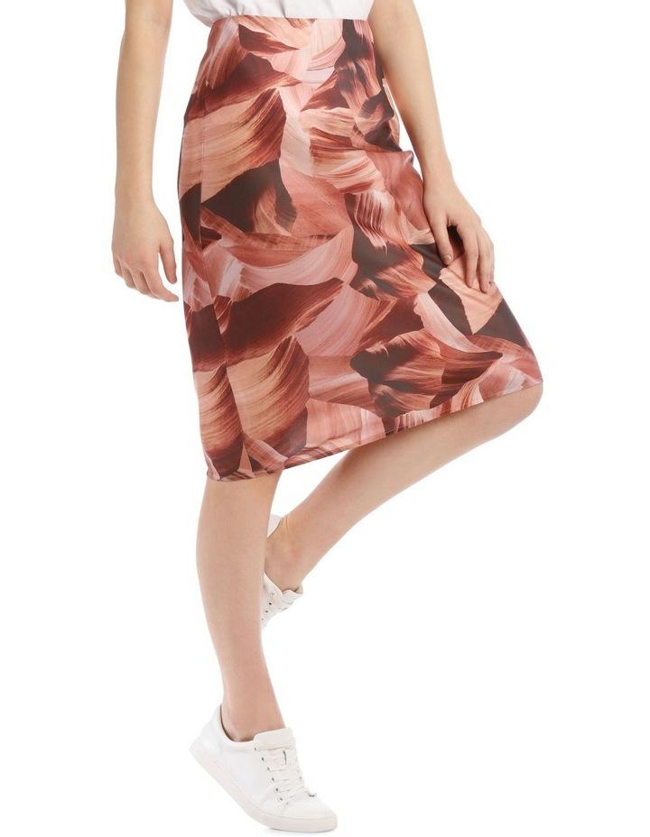 Soft Bias Cut Midi Skirt image 2