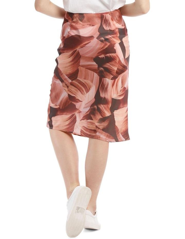 Soft Bias Cut Midi Skirt image 3