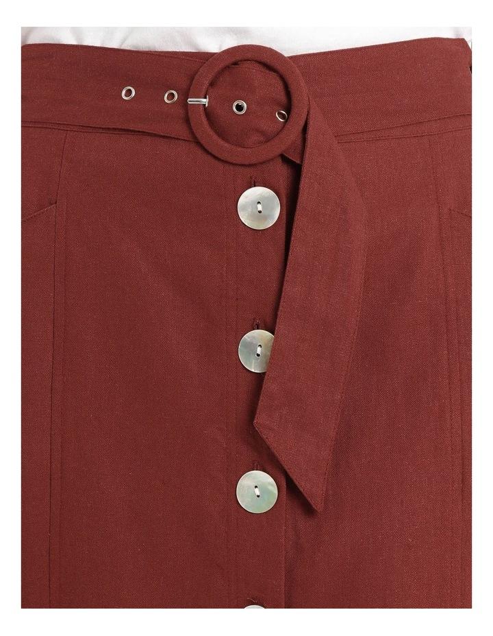 Button Thru Midi Skirt image 4