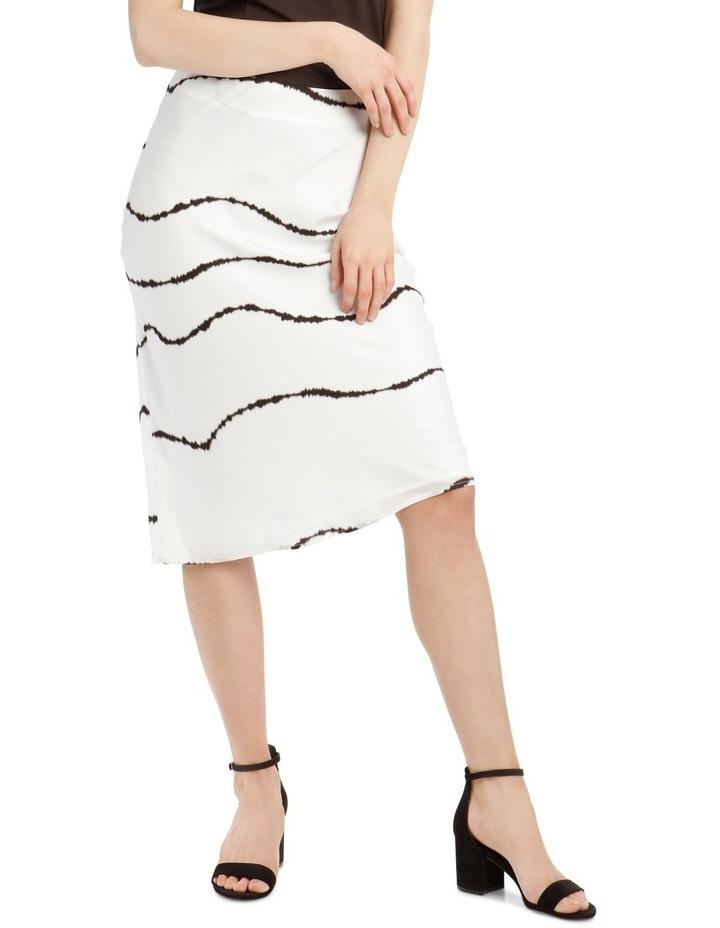 Soft Bias Cut Midi Skirt image 1