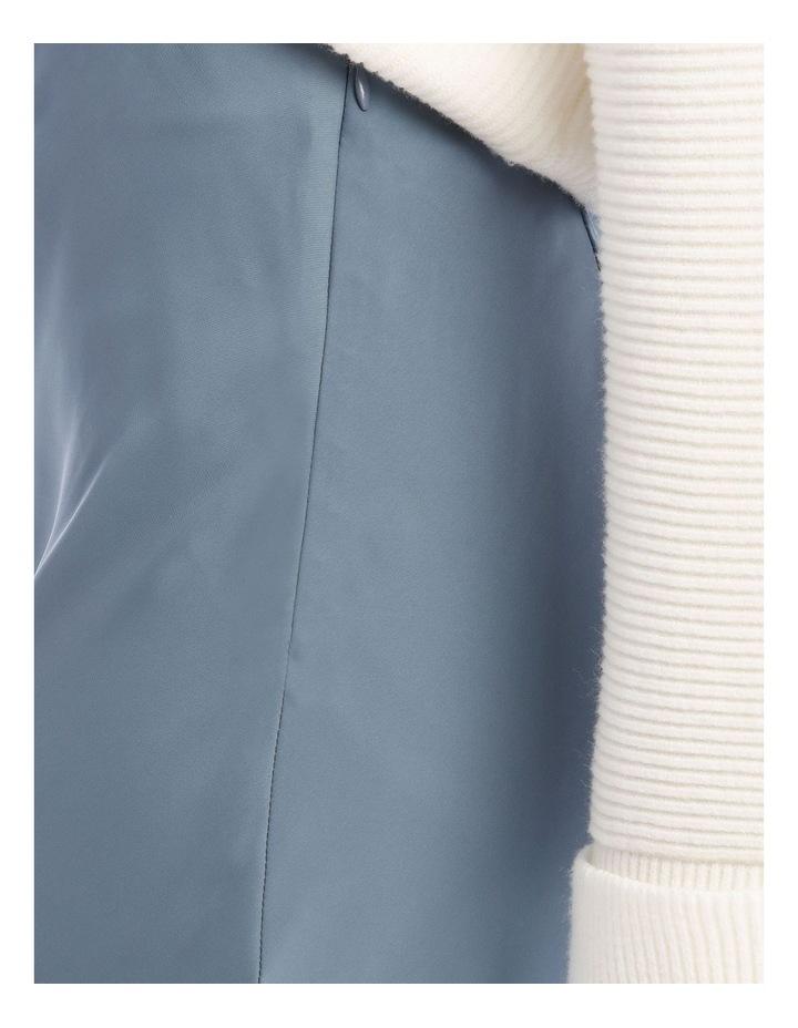 Steel Blue Slip Skirt image 4