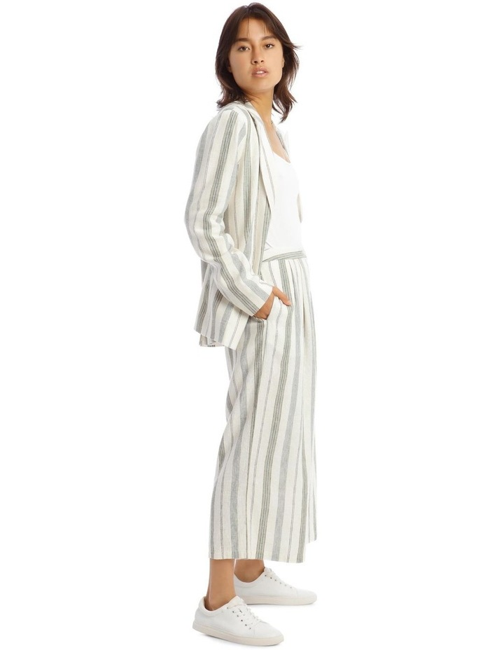 Pleat Front Linen Pants image 2