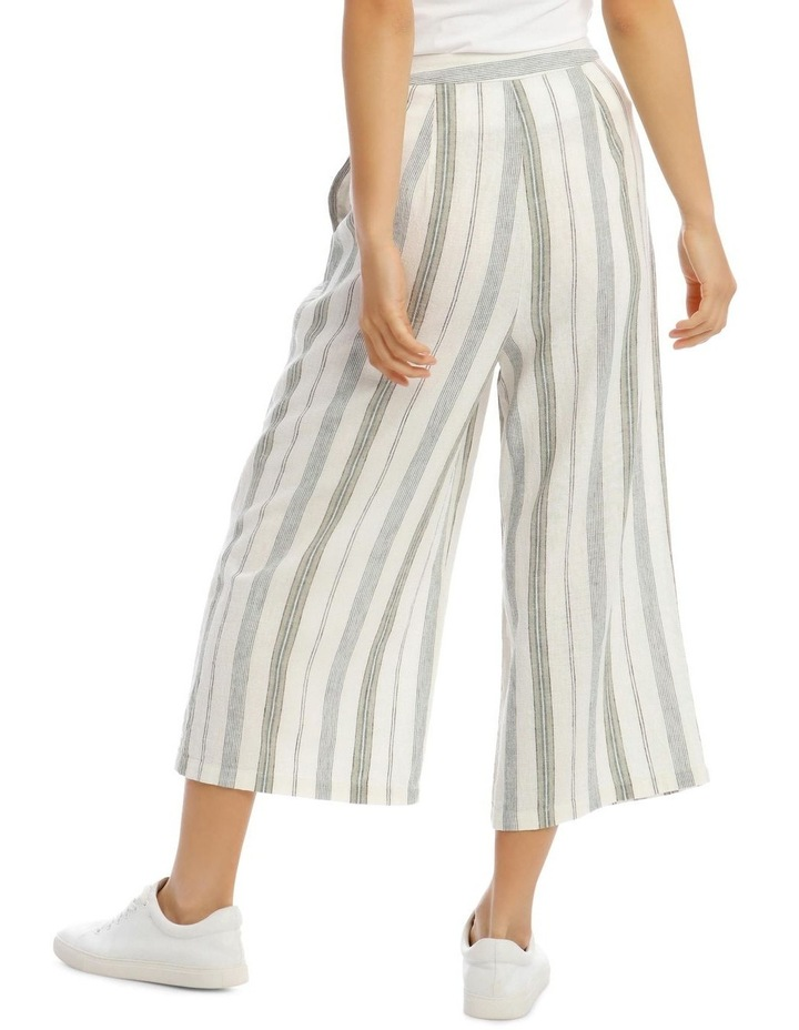 Pleat Front Linen Pants image 3