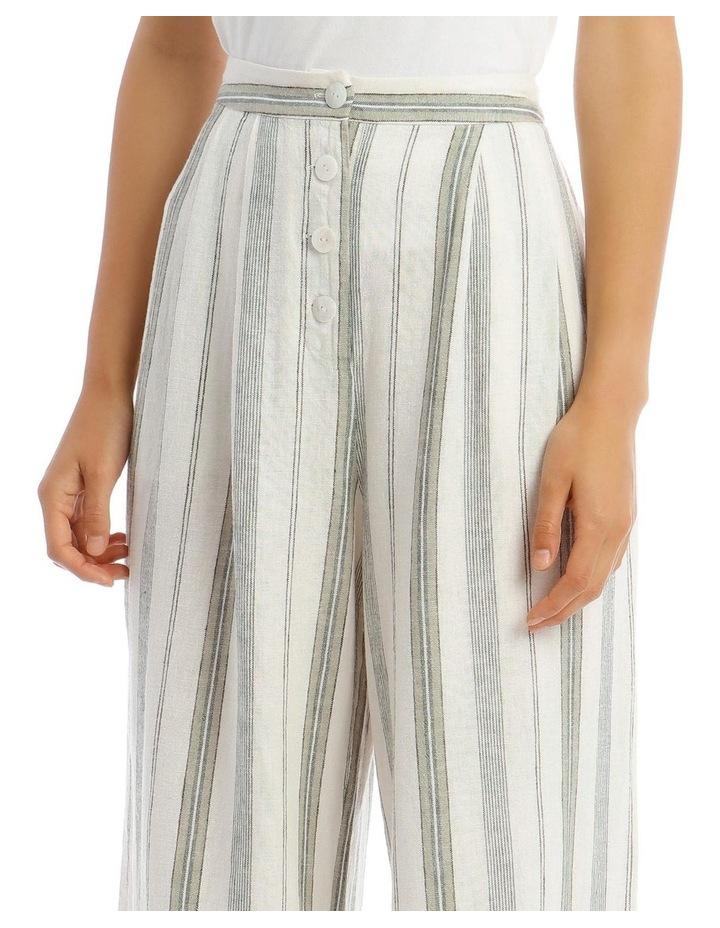 Pleat Front Linen Pants image 4