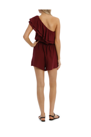 Milk & Honey - One Shoulder Playsuit