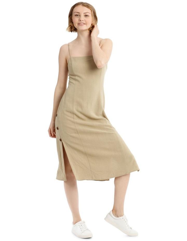 Apron Front Button Side Dress image 1