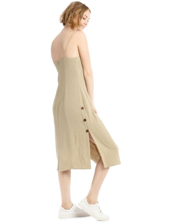 Apron Front Button Side Dress image 2