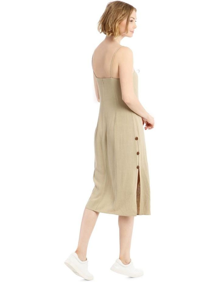 Apron Front Button Side Dress image 3