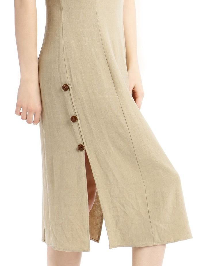 Apron Front Button Side Dress image 4