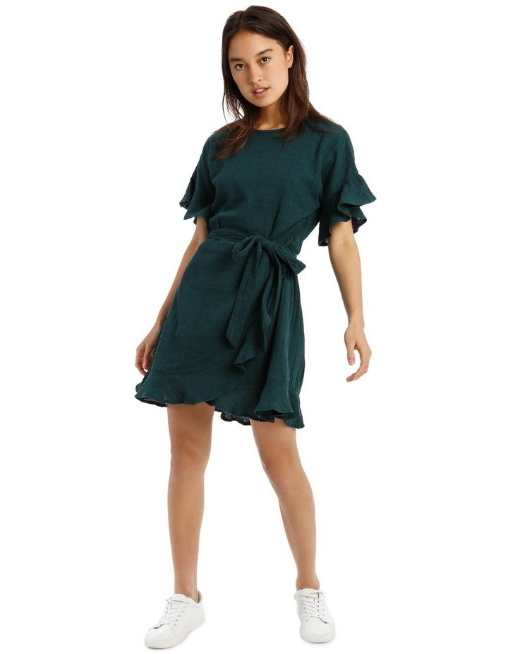 Cheesecloth Wrap Dress image 1