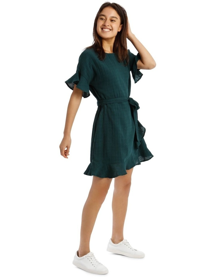 Cheesecloth Wrap Dress image 2