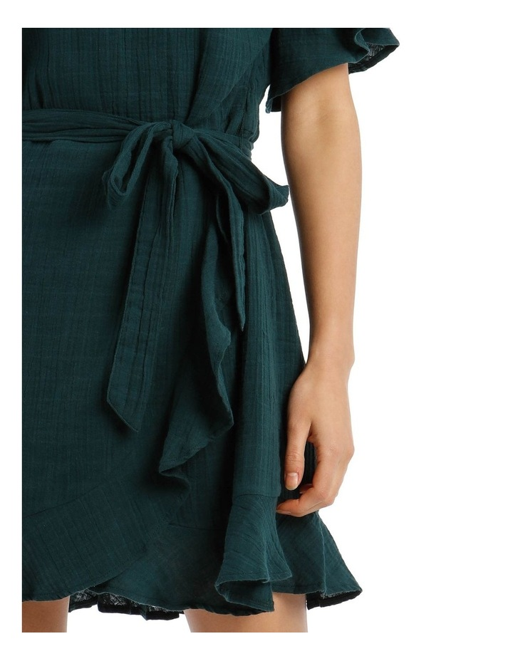 Cheesecloth Wrap Dress image 4