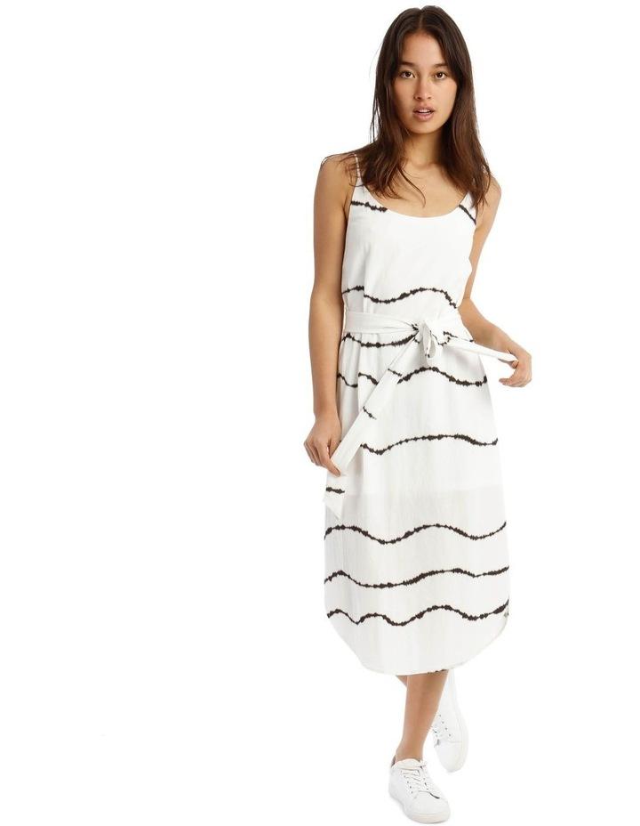 Scoop Back Tie Waist Dress image 1