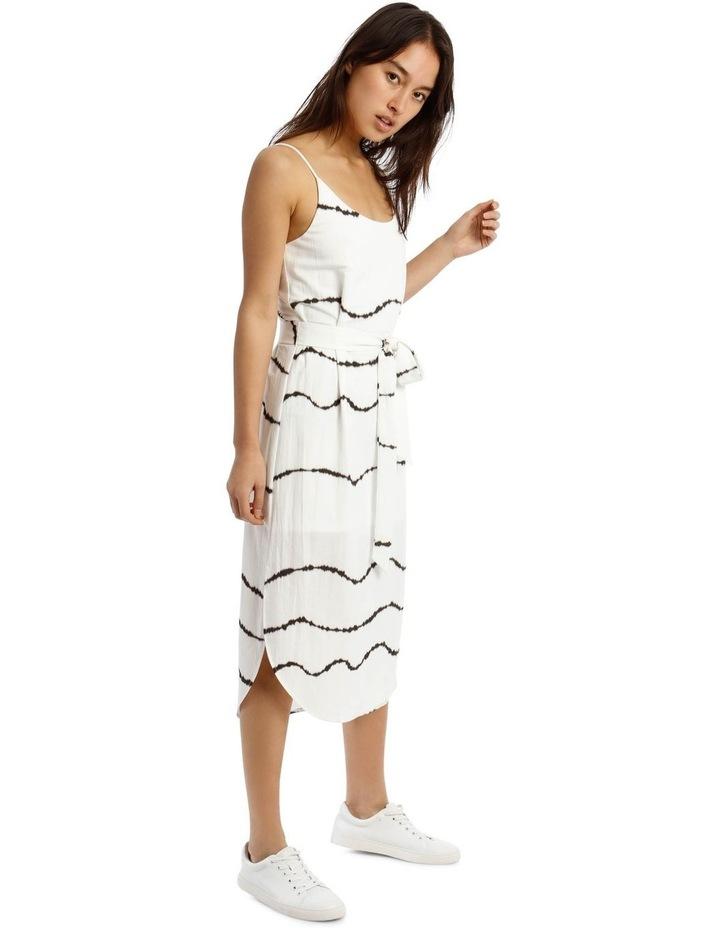 Scoop Back Tie Waist Dress image 2