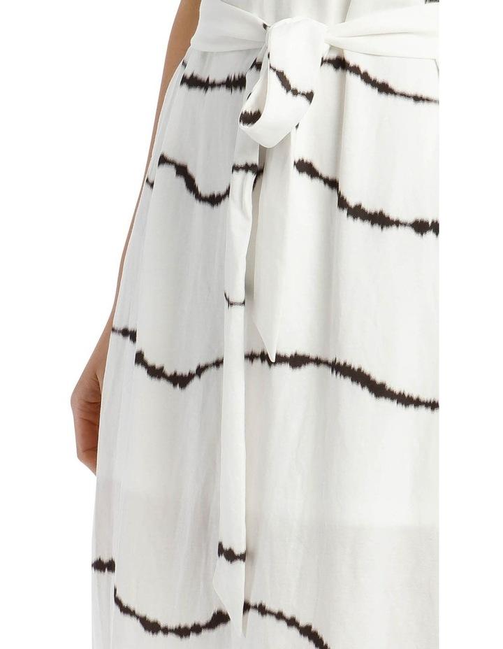 Scoop Back Tie Waist Dress image 4