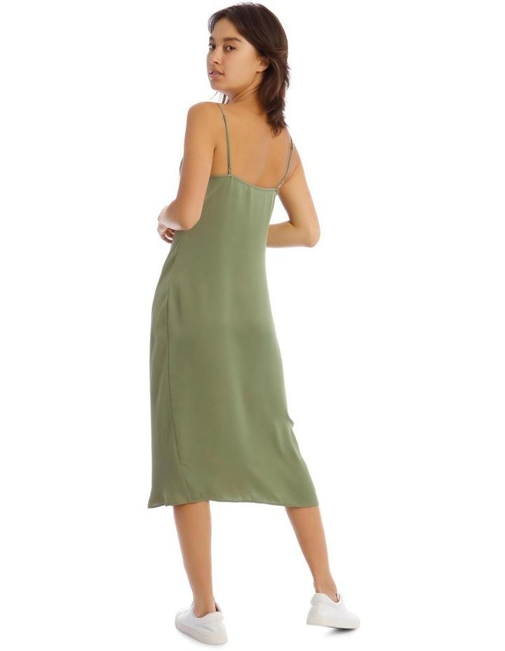 Bay Leaf Slip Dress image 3