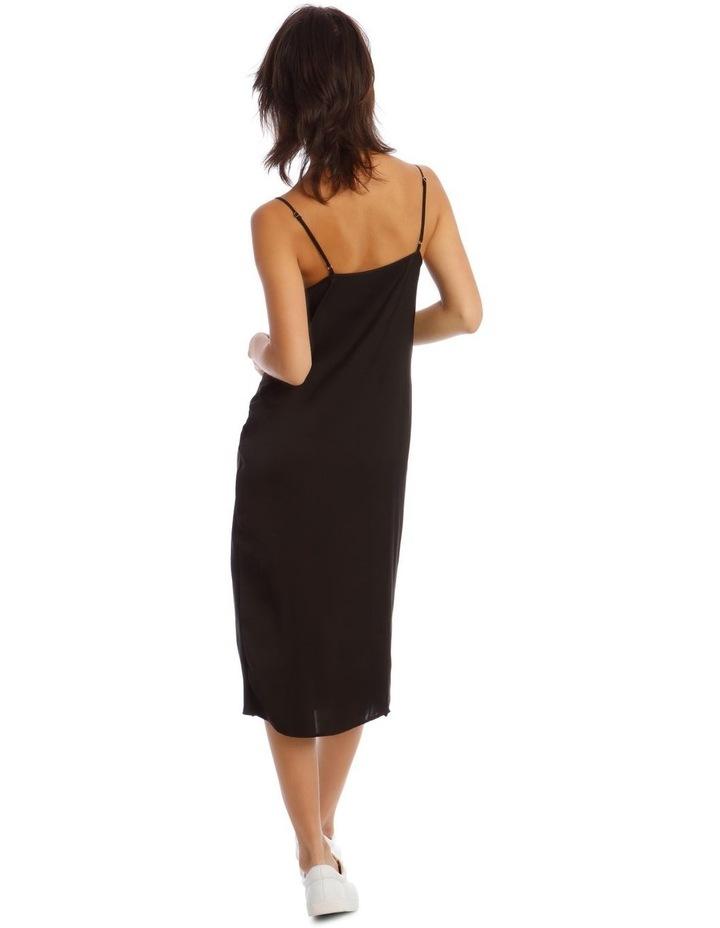 Black Slip Dress image 3