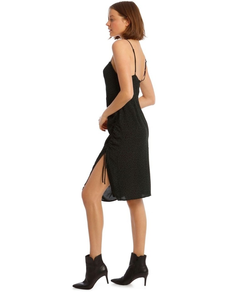 Rouched Side Detail Midi Dress image 2