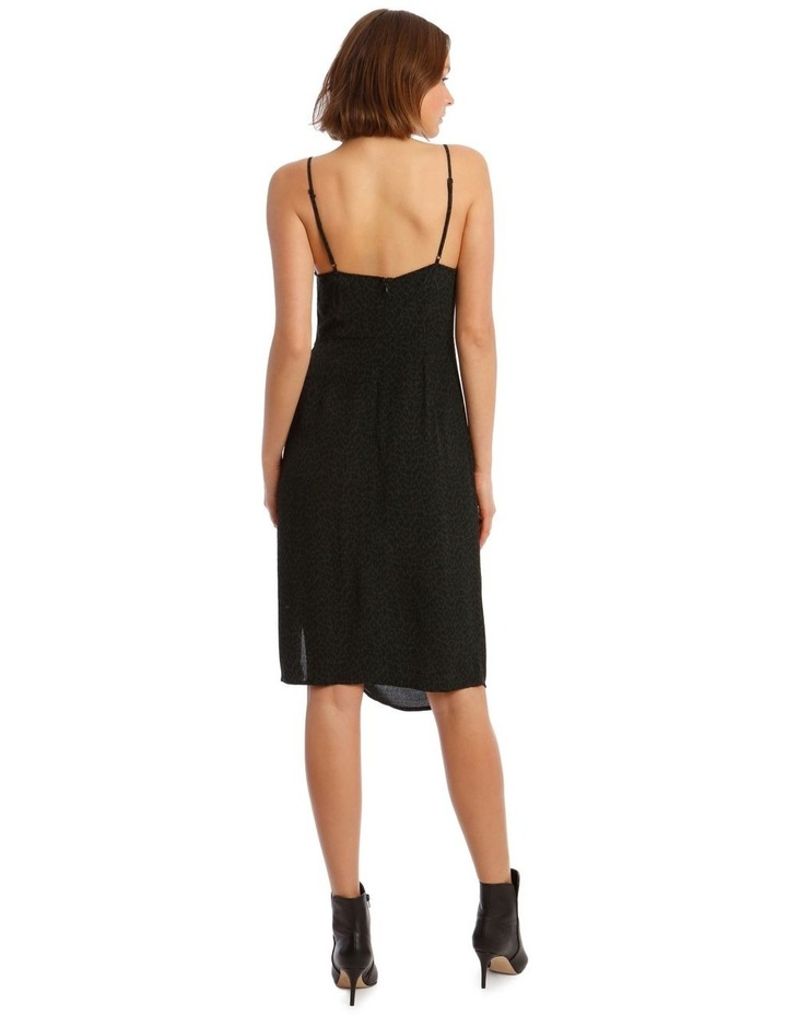 Rouched Side Detail Midi Dress image 3