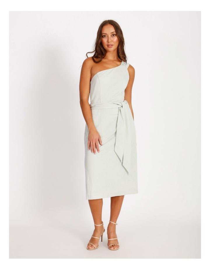 One Shoulder Cut Out Dress image 1