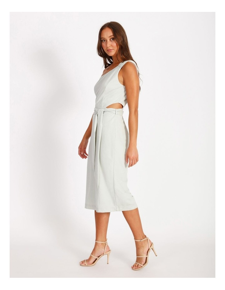 One Shoulder Cut Out Dress image 2