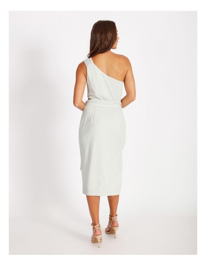 One Shoulder Cut Out Dress image 3