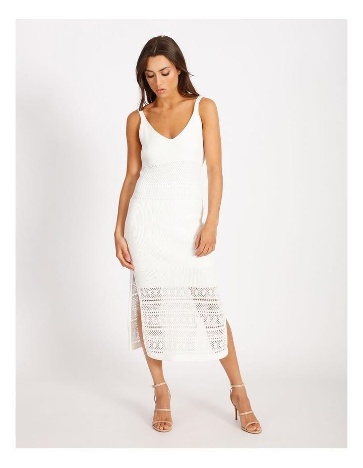 Knit Midi Dress image 1
