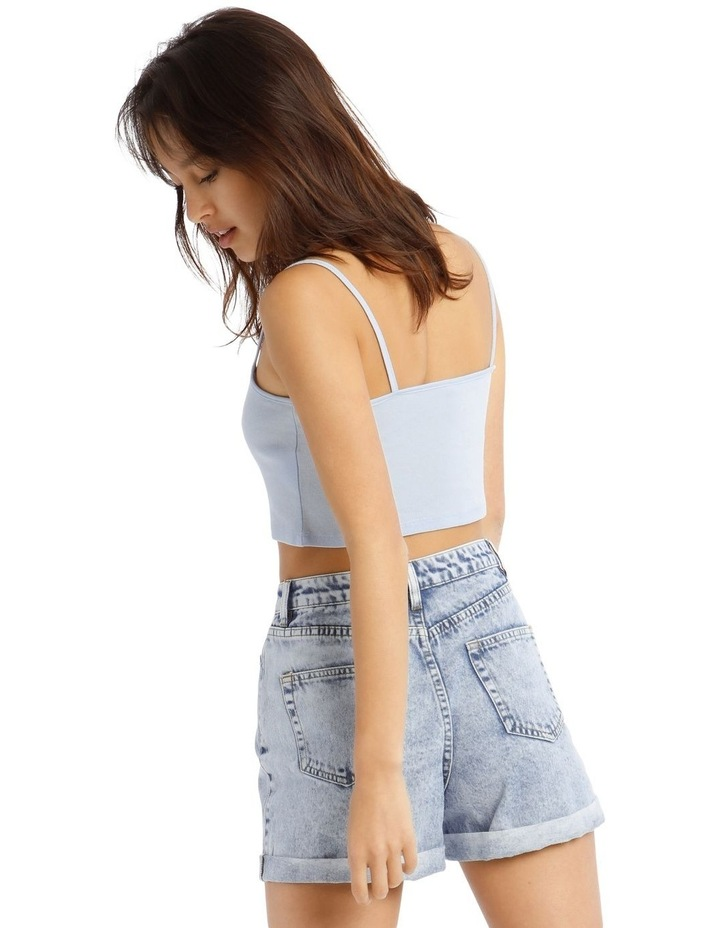 Square Neck Cropped Cami image 3