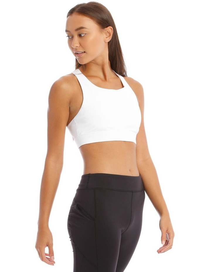 Performance Crop Top in White image 2