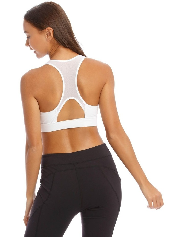 Performance Crop Top in White image 3
