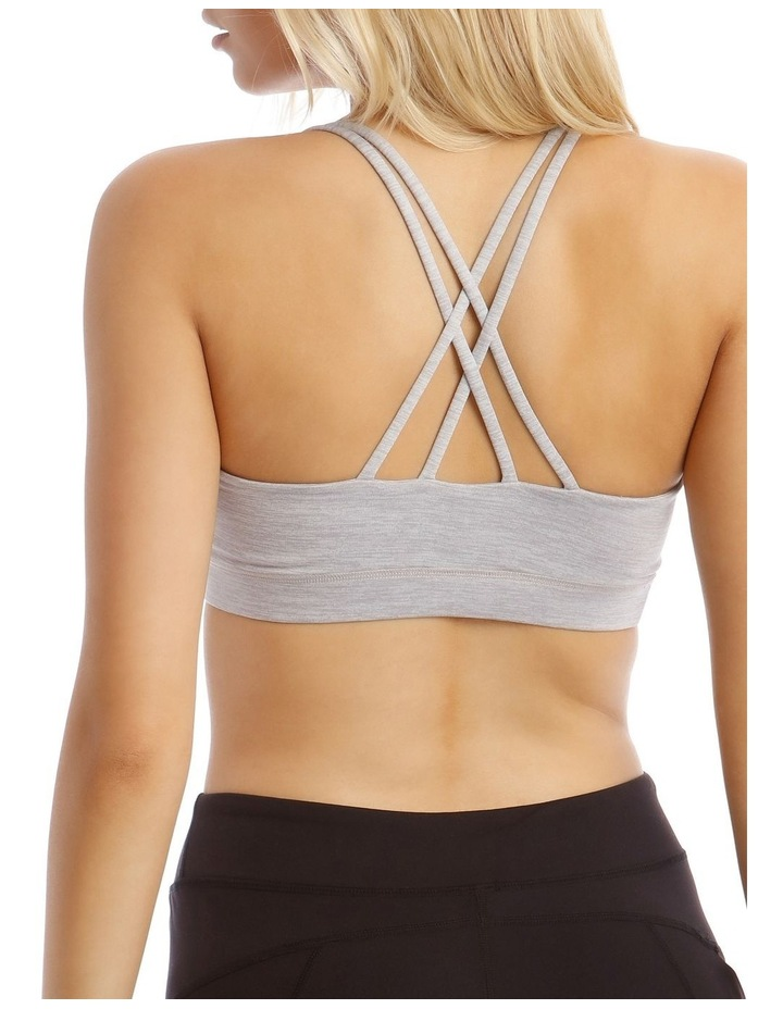 Balance Crop Top in Grey Marle image 4