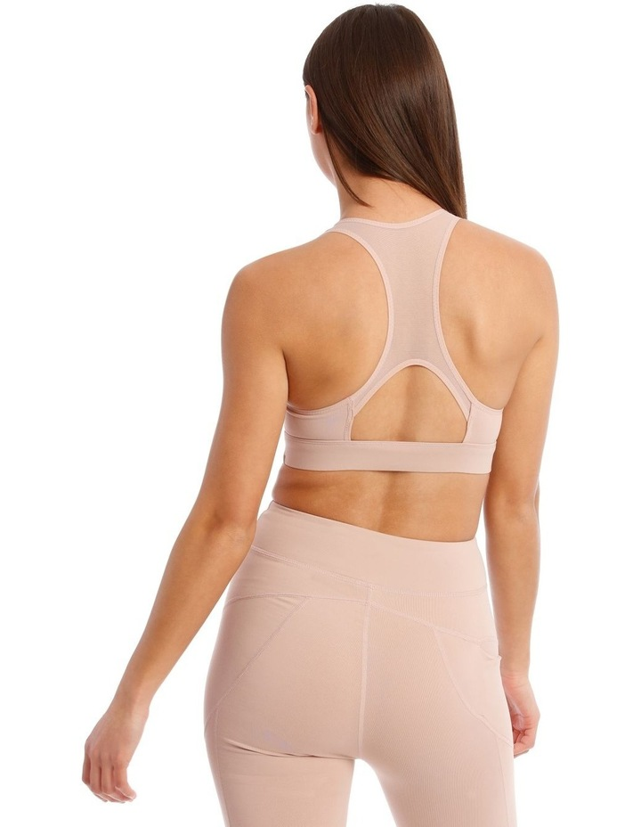 Performance Crop Top In Blush image 2